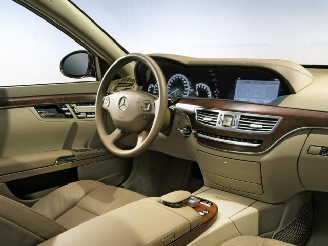 2005 S-Klasse S500 Interieur W221 08 - Mercedes-Benz Wallpaper - MB ...