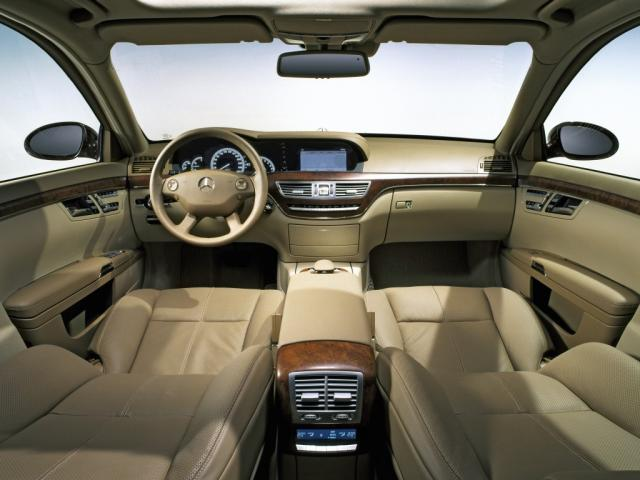 2005 S-Klasse S500 Interieur W221 16 - Mercedes-Benz Wallpaper - MB ...