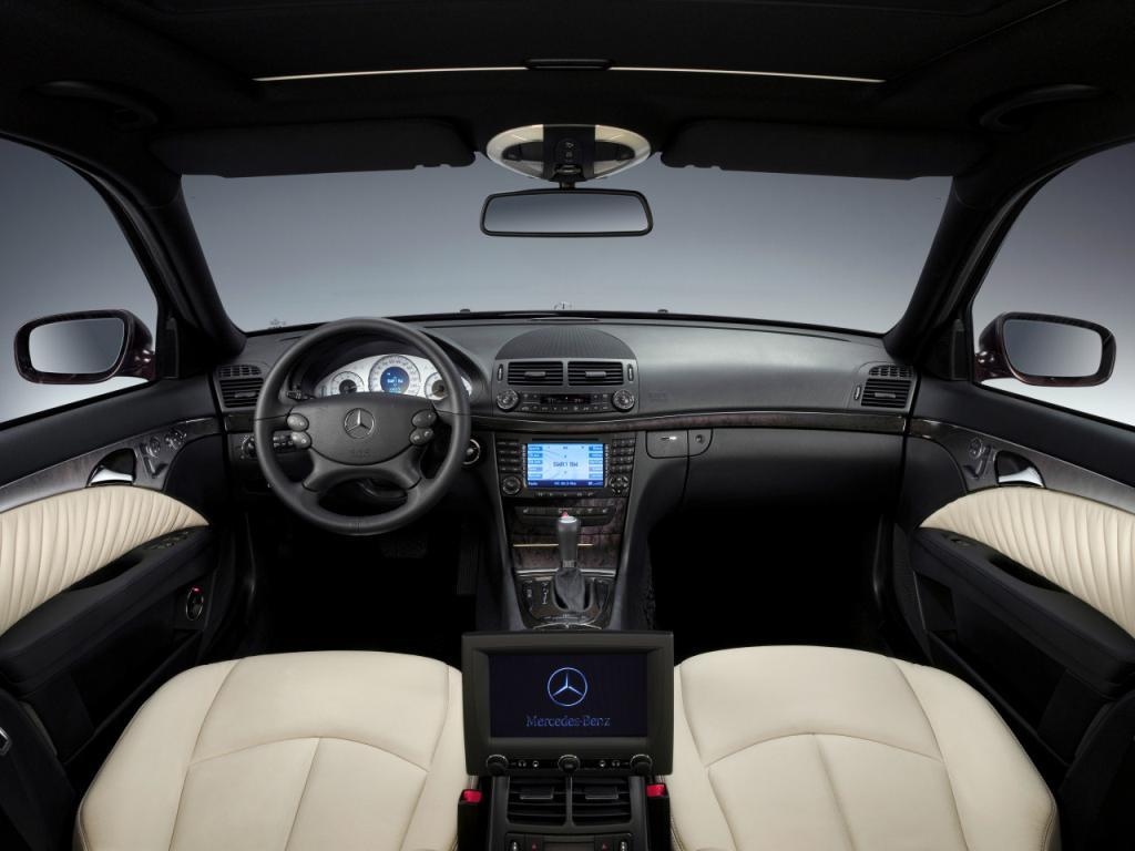 2007 E-Klasse Avantgarde Interieur - Mercedes-Benz Wallpaper - MB ...