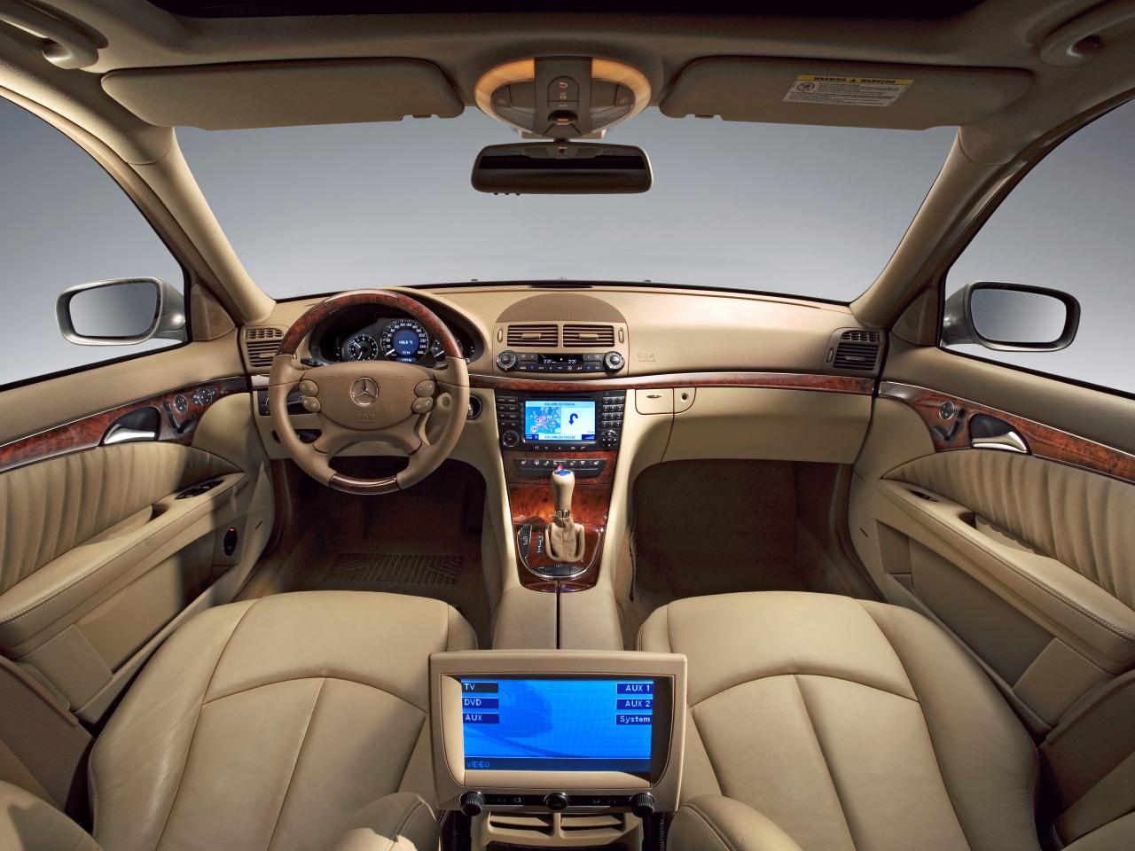 2007 E-Klasse Elegance Interieur - Mercedes-Benz Wallpaper - MB ...