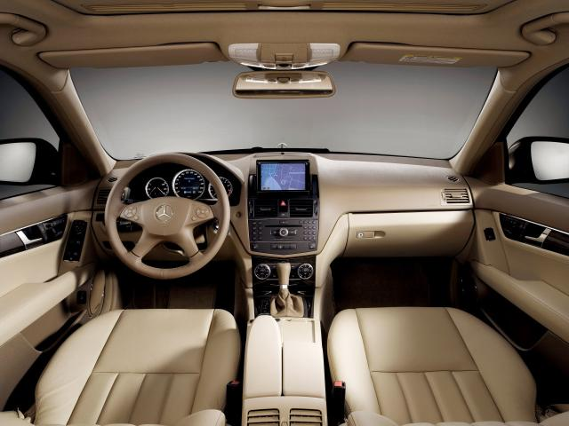 2007 C-Klasse Elegance 02 Interieur - Mercedes-Benz Wallpaper - MB ...