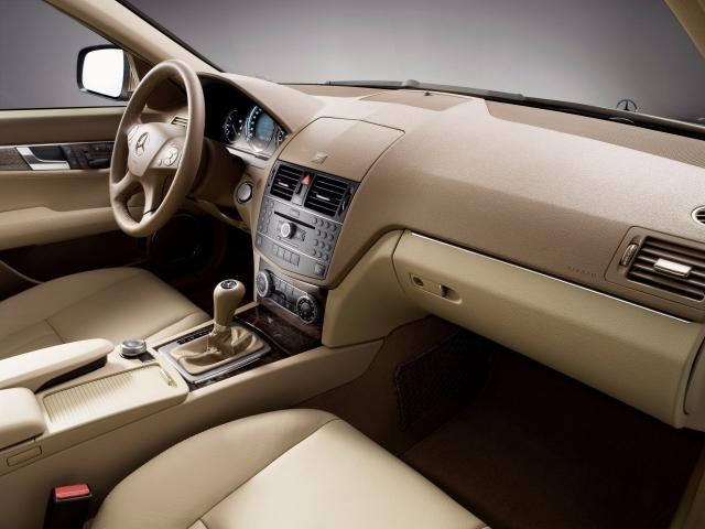 2007 C-Klasse Elegance 03 Interieur - Mercedes-Benz Wallpaper - MB ...