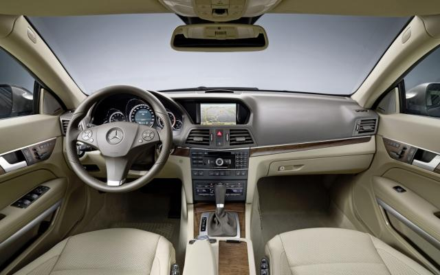 E-Klasse Coupé E 350 CDI Interieur 1 - Mercedes-Benz Wallpaper - MB ...